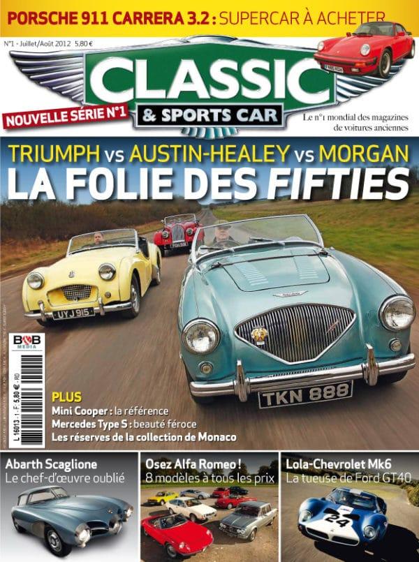 Couverture Classic & Sports Car 01