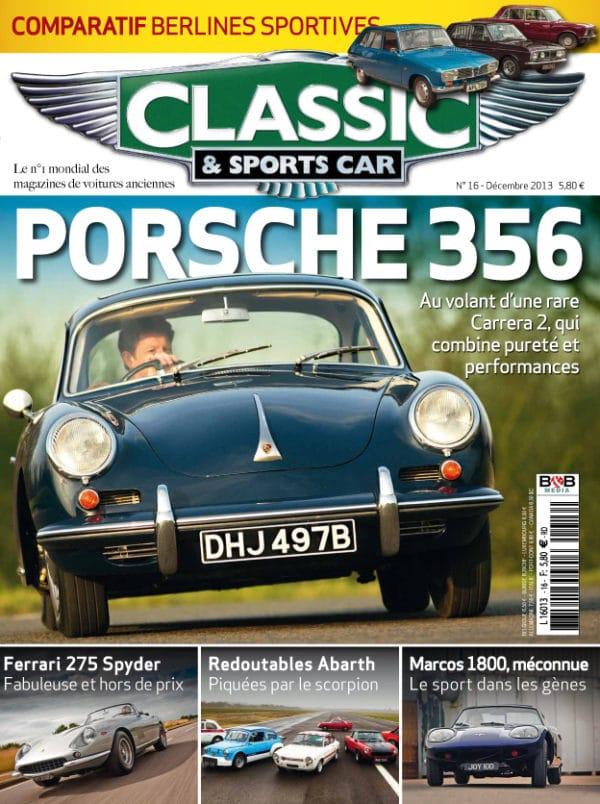 Couverture Classic & Sports Car 16