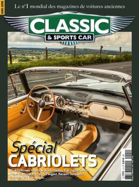 Couverture Cabriolet classic and sports car