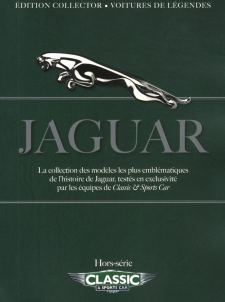 Couverture hors-série Jaguar classic and sports car