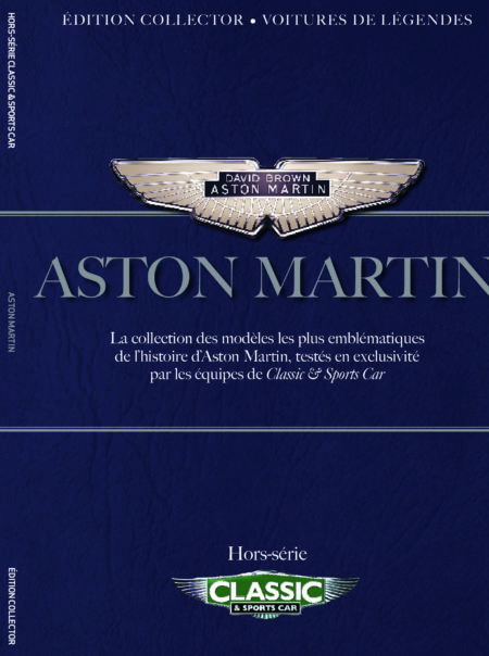 Couverture Aston Martin Classic and sports car