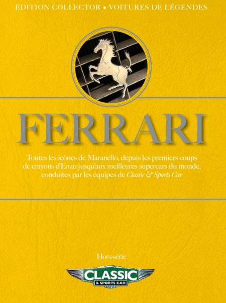 Couverture hors-série Ferrari classic and sports car