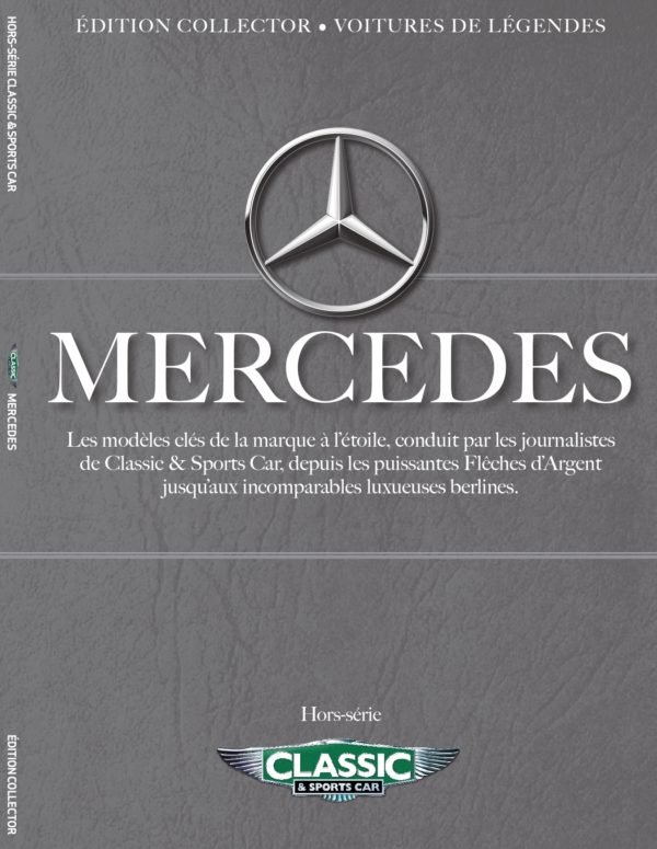 Couverture hors-série Mercedes classic and sports car
