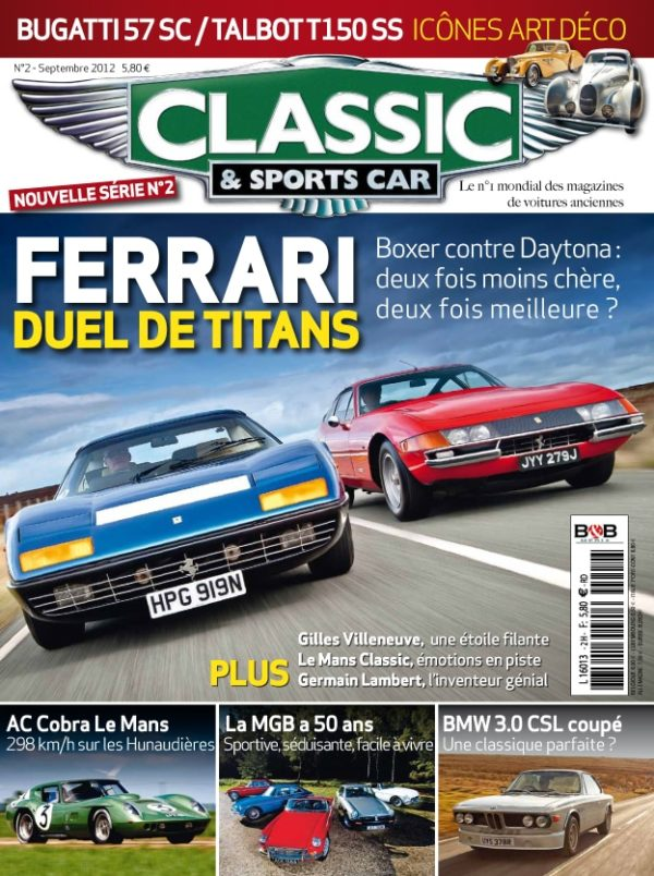 Couverture Classic & Sports Car 02