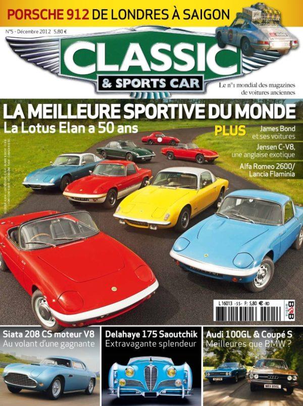 Couverture Classic & Sports Car 05