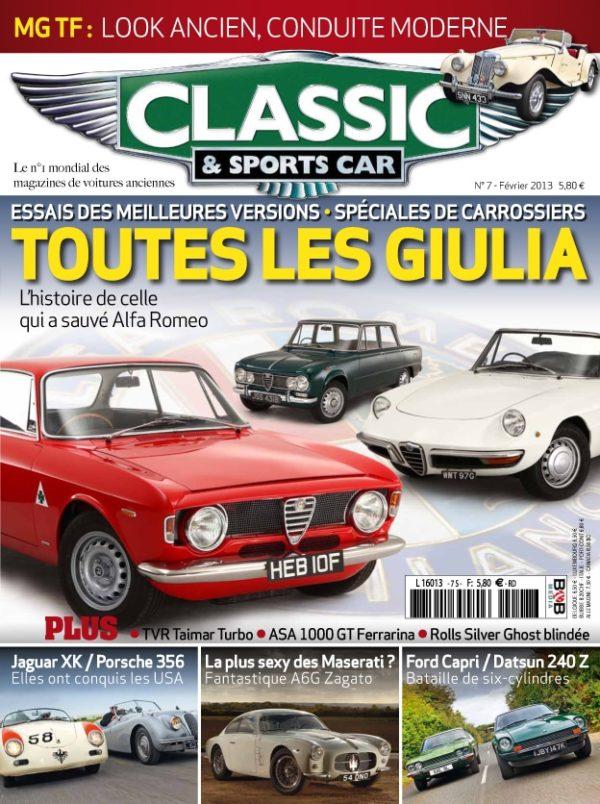 Couverture Classic & Sports Car 07