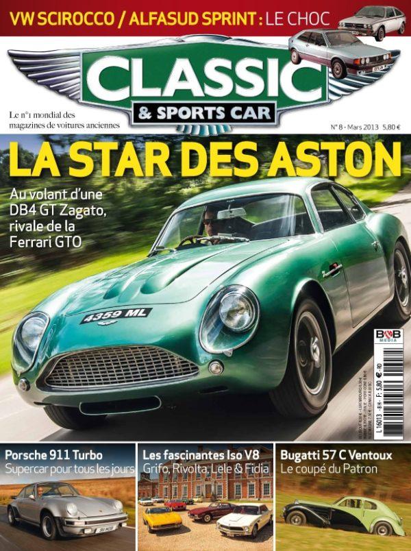 Couverture Classic & Sports Car 08