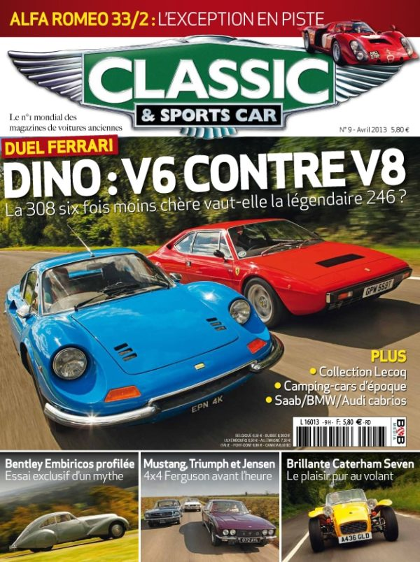 Couverture Classic & Sports Car 09