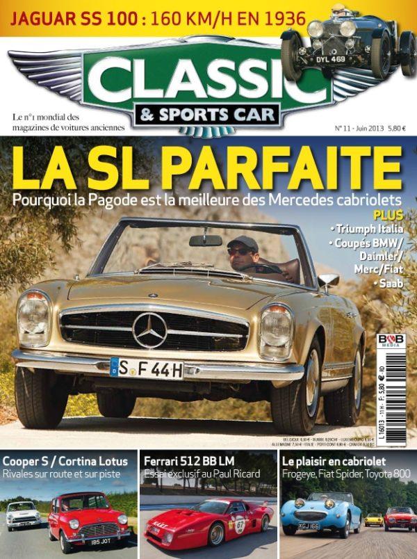 Couverture Classic & Sports Car 11