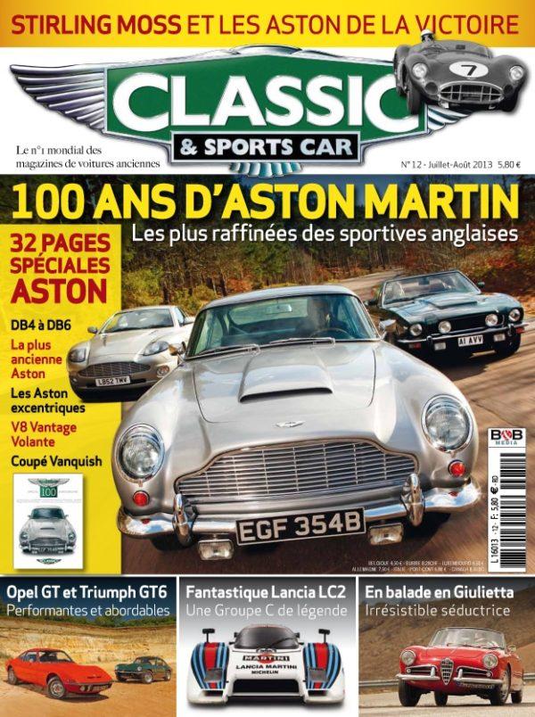 Couverture Classic & Sports Car 12