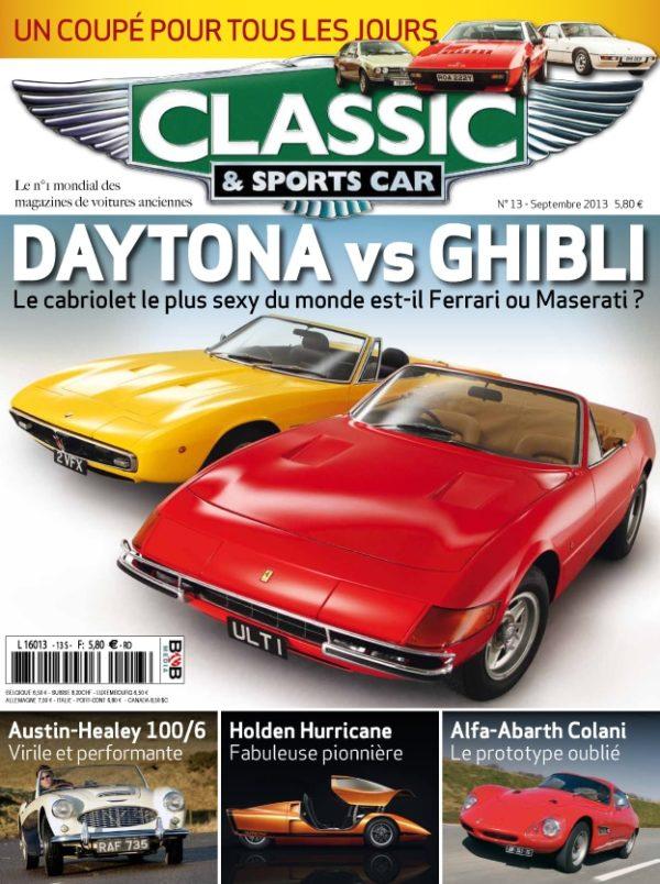 Couverture Classic & Sports Car 13