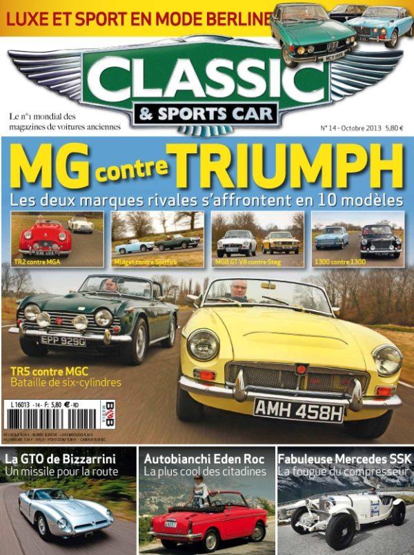 Couverture Classic & Sports Car 14