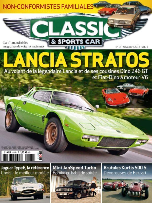 Couverture Classic & Sports Car 15