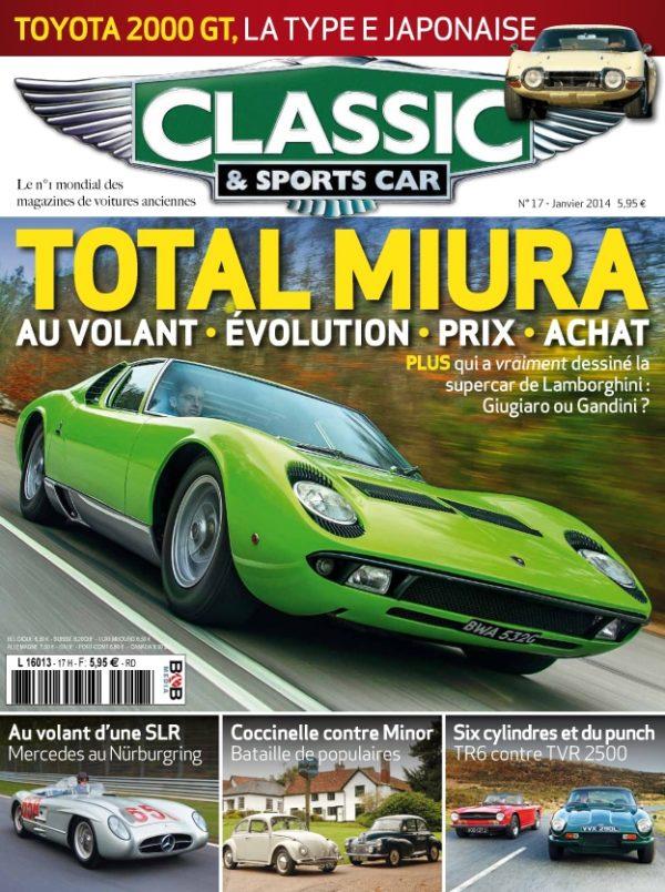 Couverture Classic & Sports Car 17