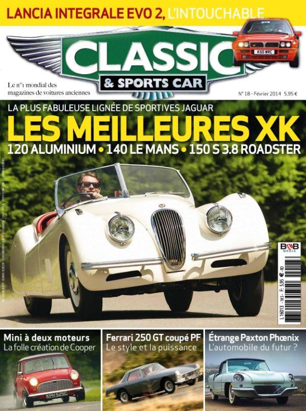 Couverture Classic & Sports Car 18