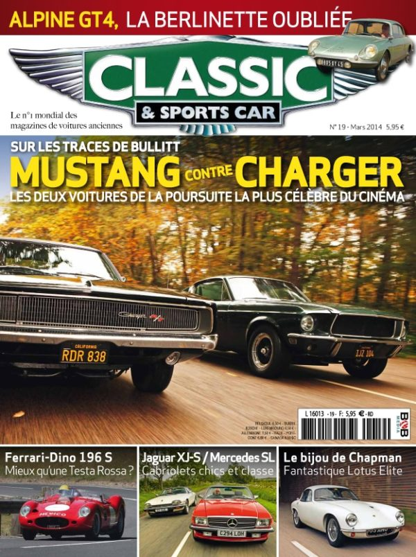 Couverture Classic & Sports Car 19