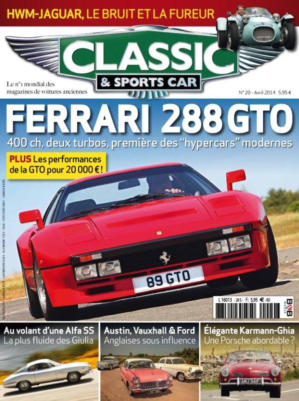 Couverture Classic & Sports Car 20