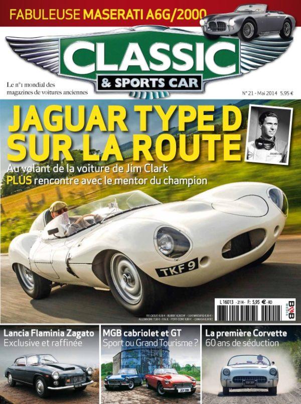 Couverture Classic & Sports Car 21