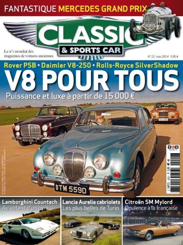 Couverture Classic & Sports Car 22