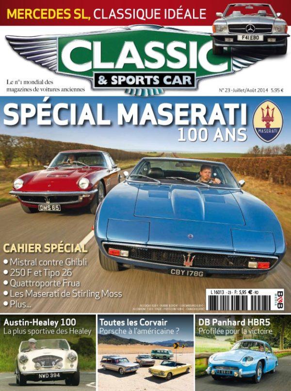Couverture Classic & Sports Car 23