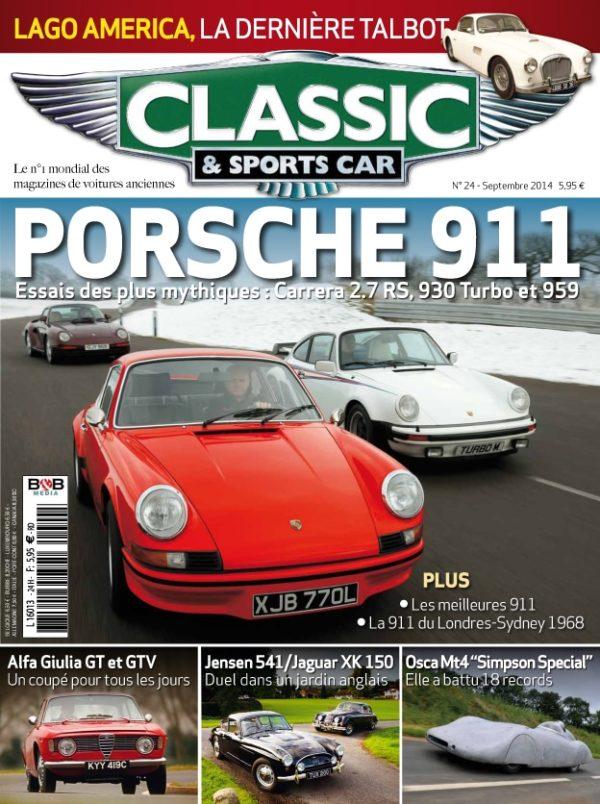 Couverture Classic & Sports Car 24