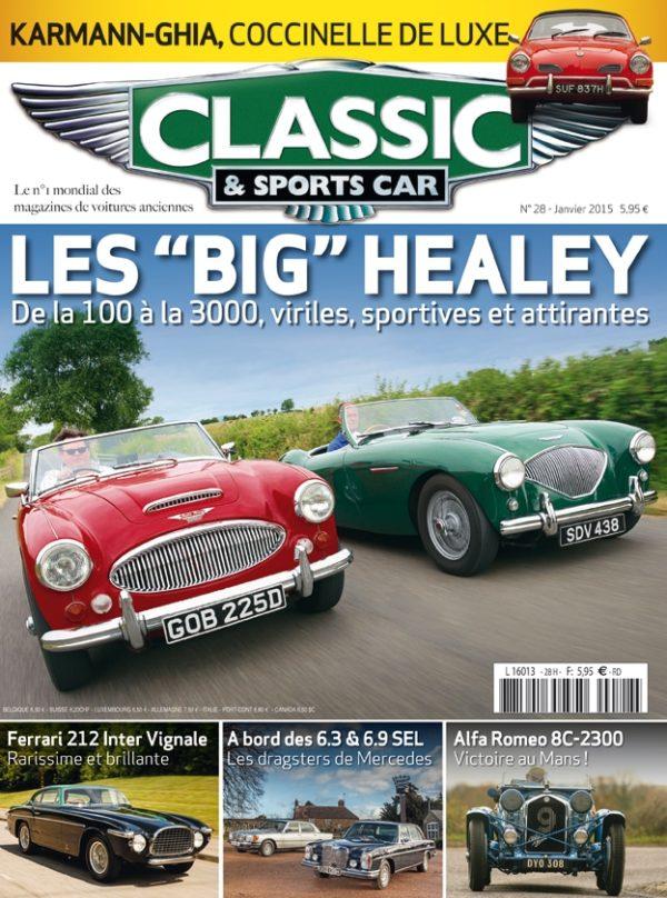 Couverture Classic & Sports Car 28
