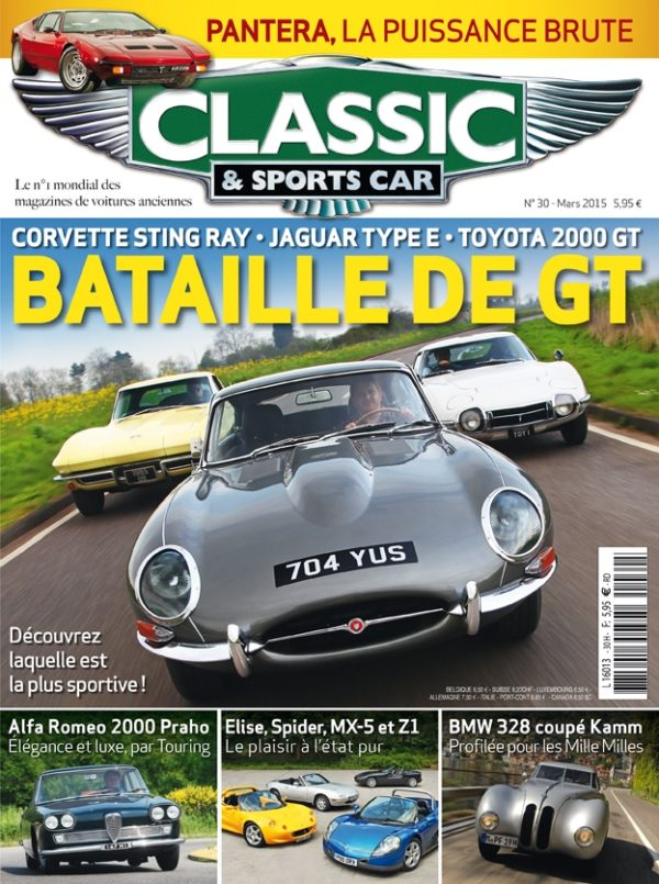 Couverture Classic & Sports Car 30