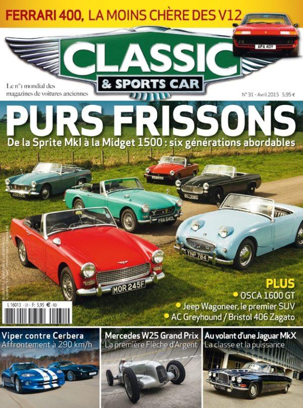 Couverture Classic & Sports Car 31