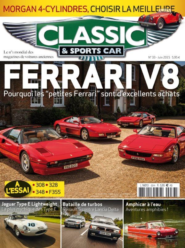 Couverture Classic & Sports Car 33