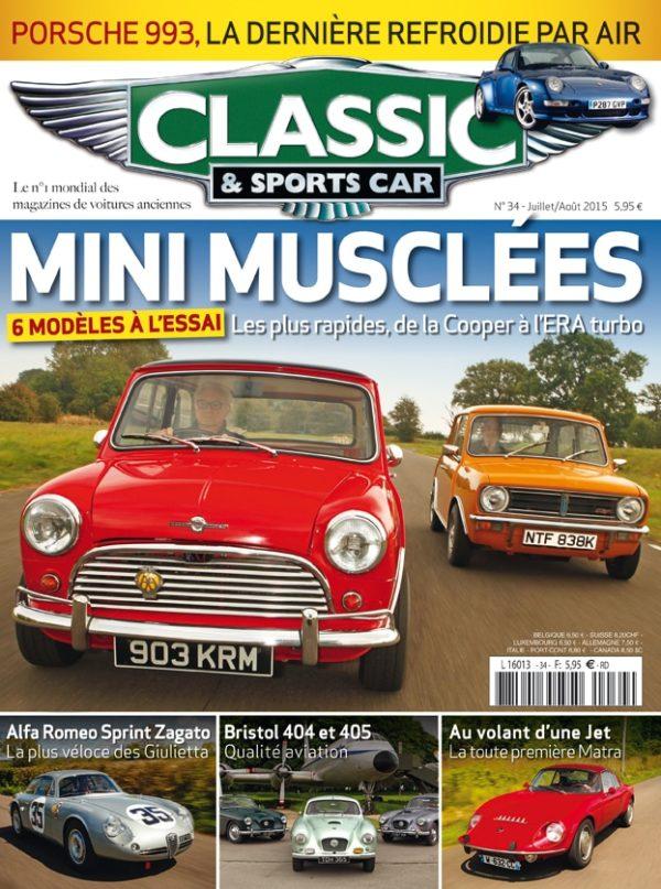 Couverture Classic & Sports Car 34