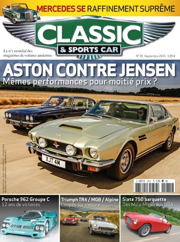 Couverture Classic & Sports Car 35