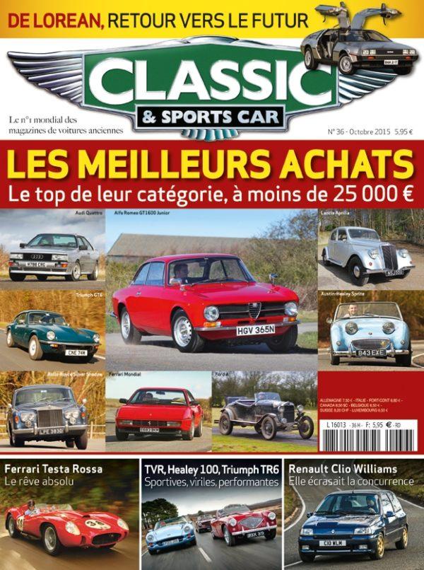 Couverture Classic & Sports Car 36