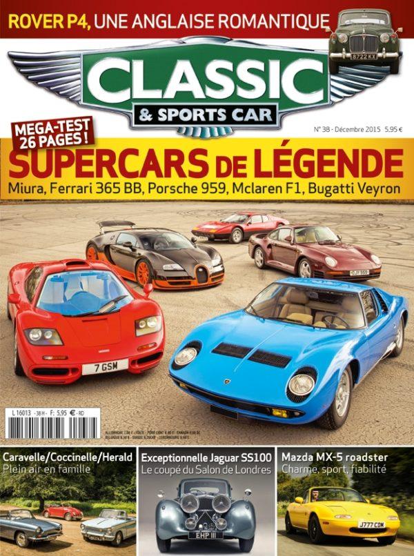 Couverture Classic & Sports Car 38