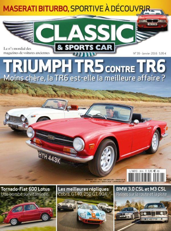 Couverture Classic & Sports Car 39