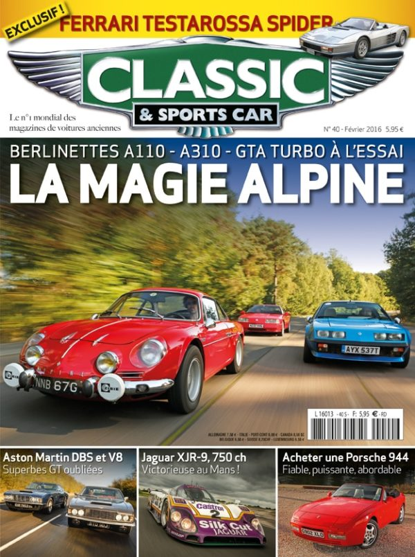Couverture Classic & Sports Car 40