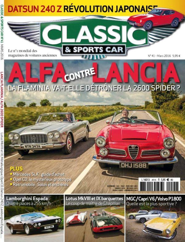 Couverture Classic & Sports Car 41