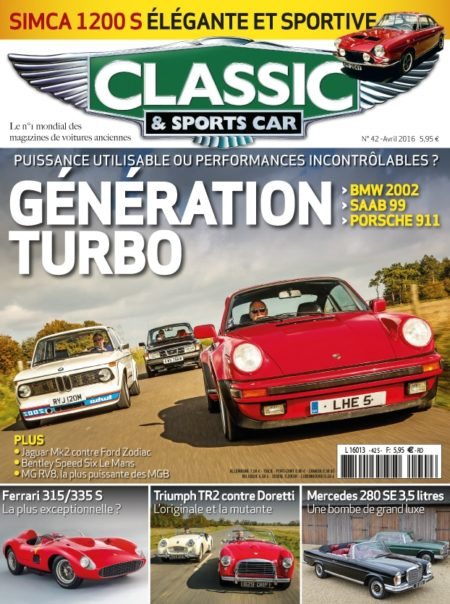Couverture Classic & Sports Car 42