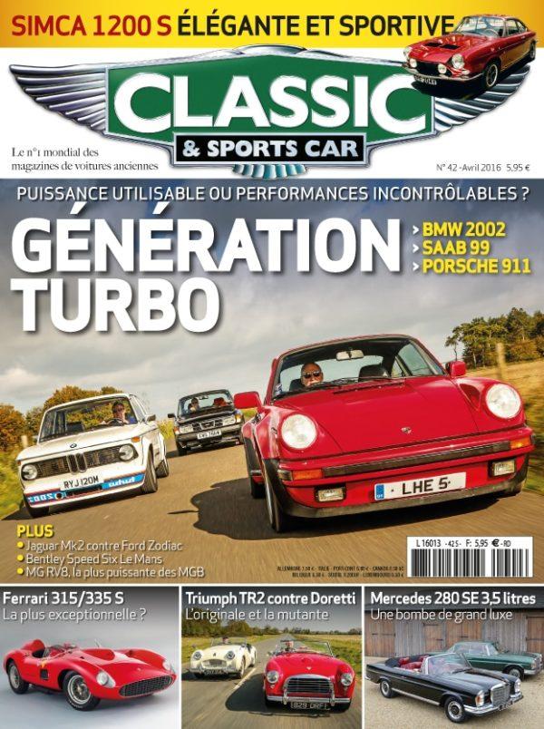 Couverture Classic & Sports Car 42