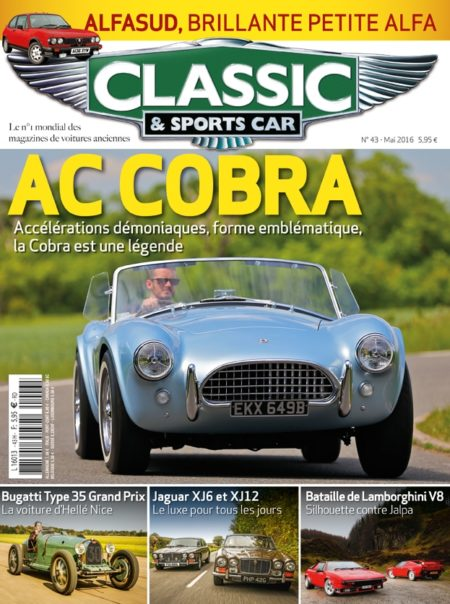 Couverture Classic & Sports Car 43