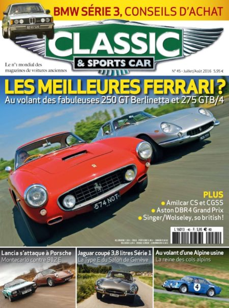 Couverture Classic & Sports Car 45