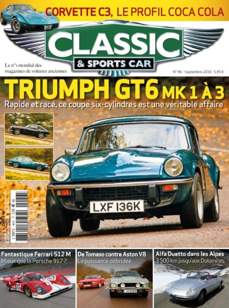 Couverture Classic & Sports Car 46