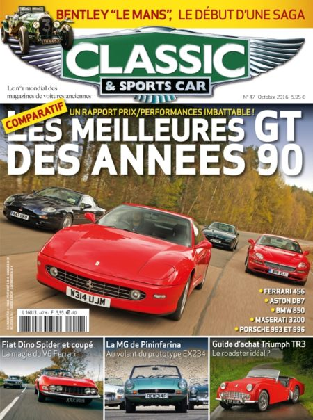Couverture Classic & Sports Car 47