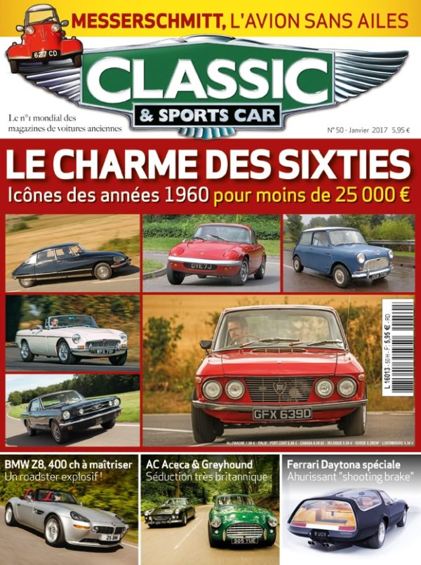 Couverture Classic & Sports Car 50