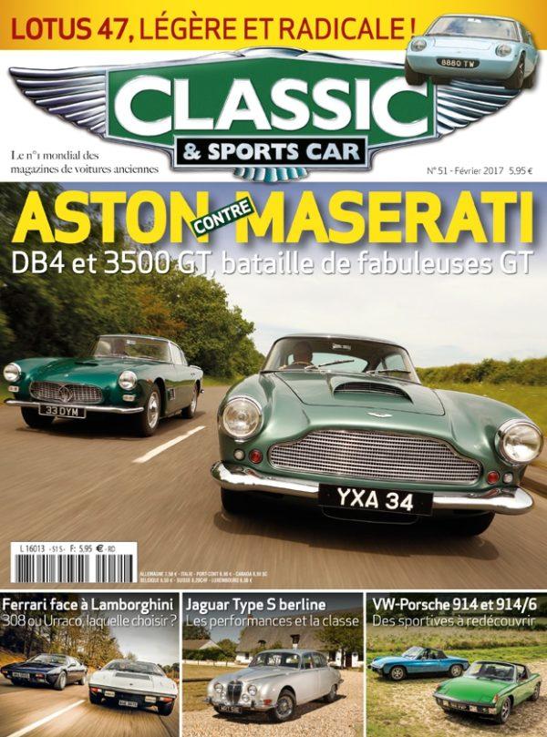 Couverture Classic & Sports Car 51
