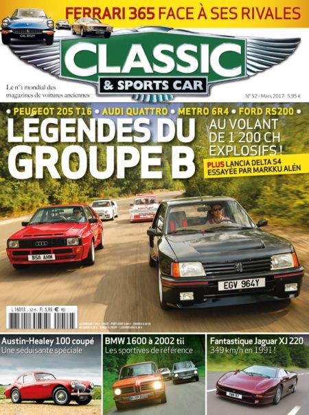 Couverture Classic & Sports Car 52
