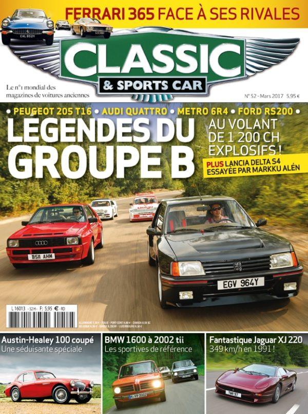 Couverture Classic & Sports Car 52