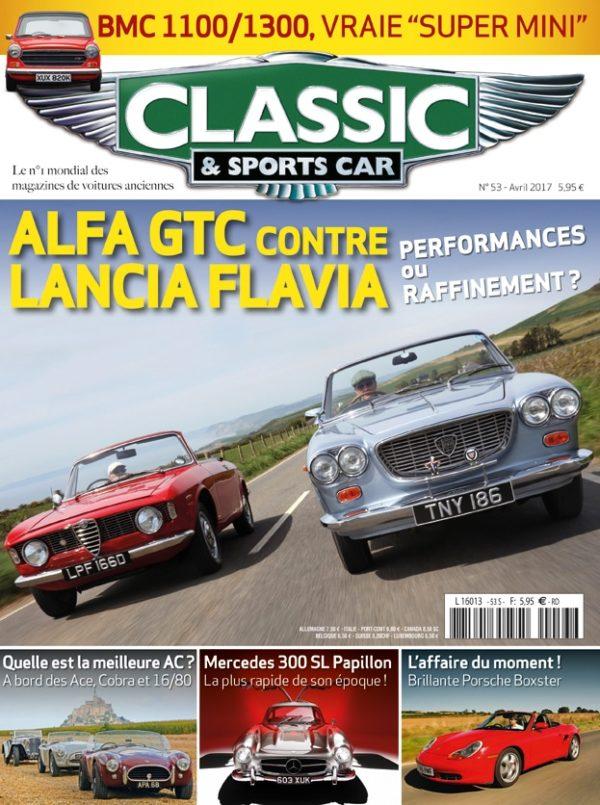 Couverture Classic & Sports Car 53