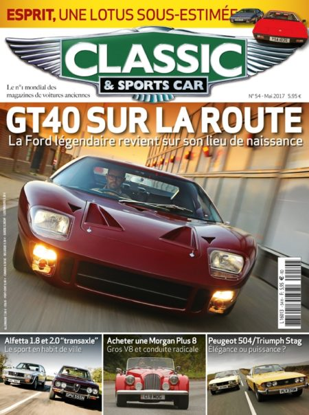 Couverture Classic & Sports Car 54