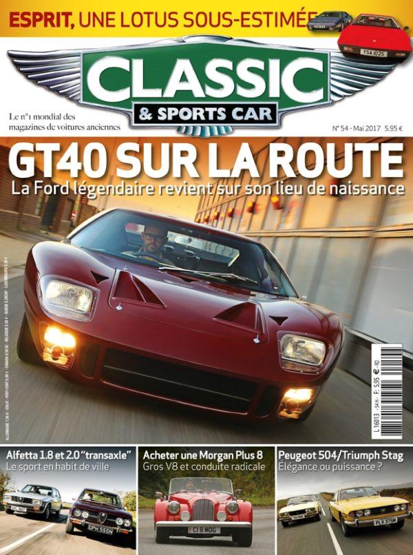 Couverture Classic & Sports Car 54