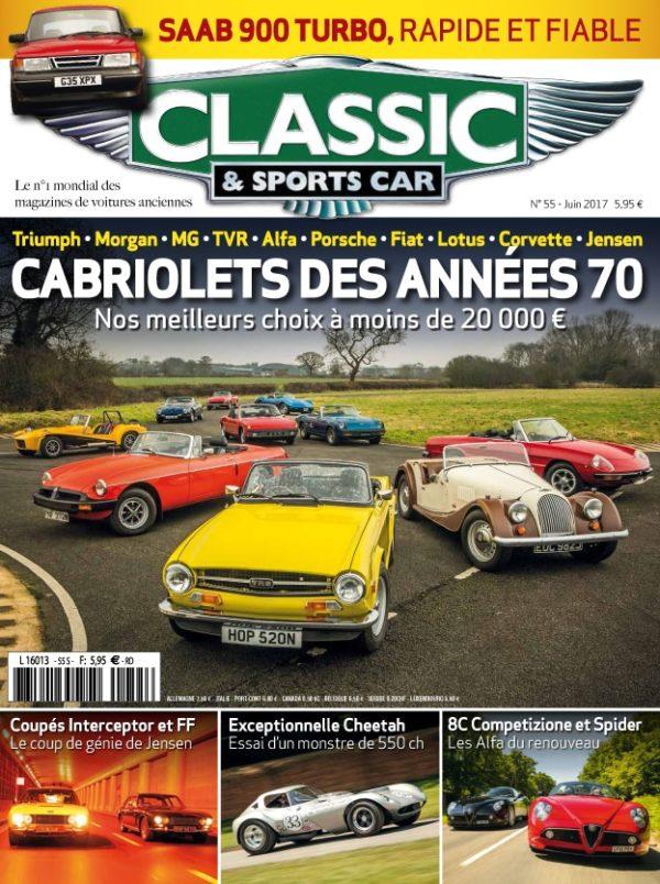 Couverture Classic & Sports Car 55